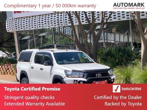2018 Toyota Hilux 4.0 V6 Raider 4x4 Double Cab Bakkie Auto Gauteng North Riding_0