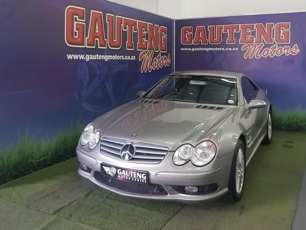 2005 Mercedes-Benz SL-Class Sl 55 Amg  Gauteng Pretoria_0
