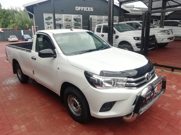 2018 Toyota Hilux 2.4 GD AC Single Cab Bakkie Gauteng Bramley_0