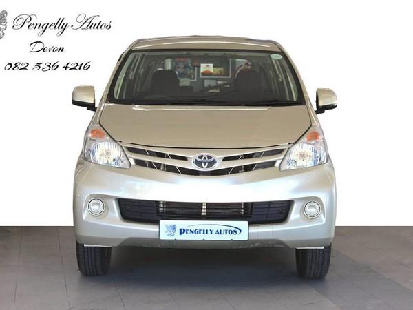 2013 Toyota Avanza 1.5 Sx At  Western Cape Tokai_0