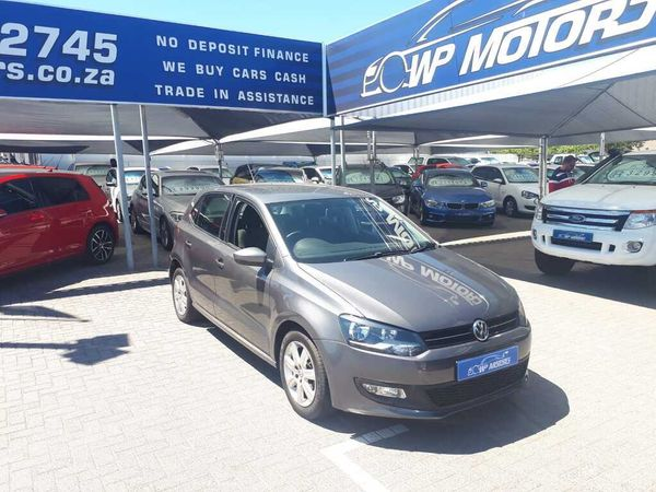 2012 Volkswagen Polo 1.4 Comfortline 5dr  Western Cape Bellville_0
