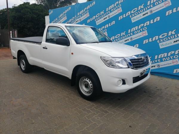 2012 Toyota Hilux 2.0 Vvti Pu Sc  Gauteng Pretoria North_0