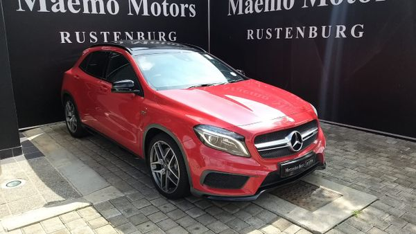 2015 Mercedes-Benz GLA-Class 45 AMG North West Province Rustenburg_0