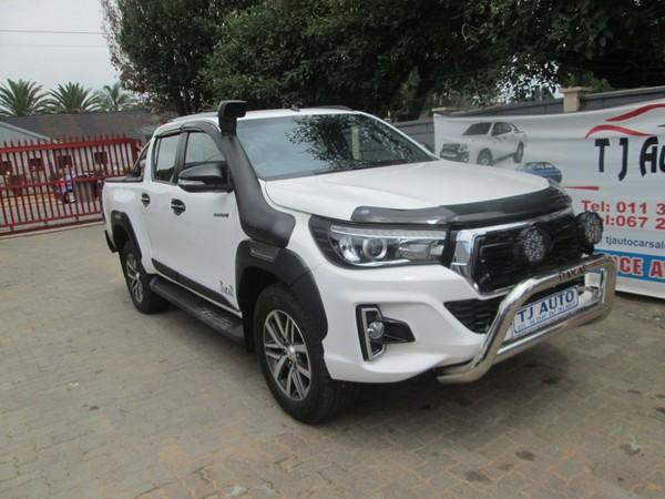 2018 Toyota Hilux 2.8 GD-6 Raider 4X4 Double Cab Bakkie Auto Gauteng Bramley_0