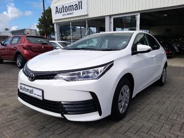 2020 Toyota Corolla Quest 1.8 CVT Eastern Cape East London_0