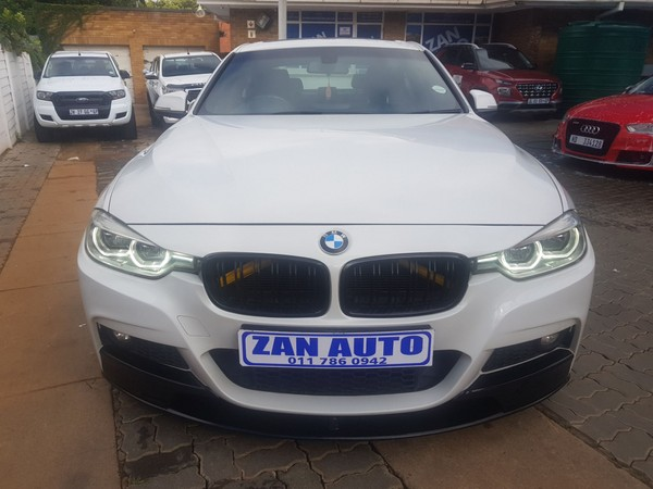 2017 BMW 3 Series 318i M Sport Auto Gauteng Bramley_0