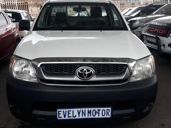 2007 Toyota Hilux 2.5 D-4d Pu Sc  Gauteng Johannesburg_0