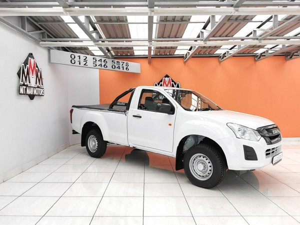 2021 Isuzu D-MAX 250C Fleetside Single Cab Bakkie Gauteng Pretoria_0
