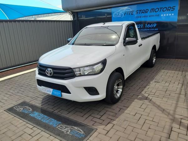 2017 Toyota Hilux 2.4 GD Single Cab Bakkie Gauteng Vereeniging_0