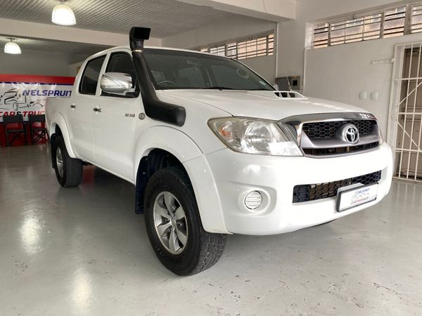 2010 Toyota Hilux 3.0 D-4d Raider 4x4 Pu Dc  Mpumalanga Nelspruit_0