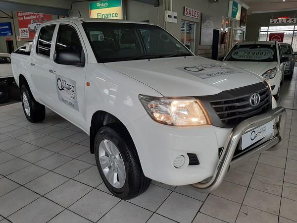 2015 Toyota Hilux 2.5d-4d Srx 4x4 Pu Dc  Free State Ficksburg_0