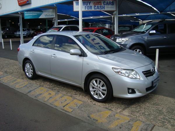 2009 Toyota Corolla 1.8 Advanced  Gauteng Pretoria_0