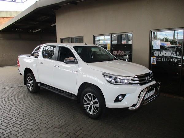 2018 Toyota Hilux 2.8 GD-6 Raider 4X4 Auto Double Cab Bakkie Gauteng Pretoria_0