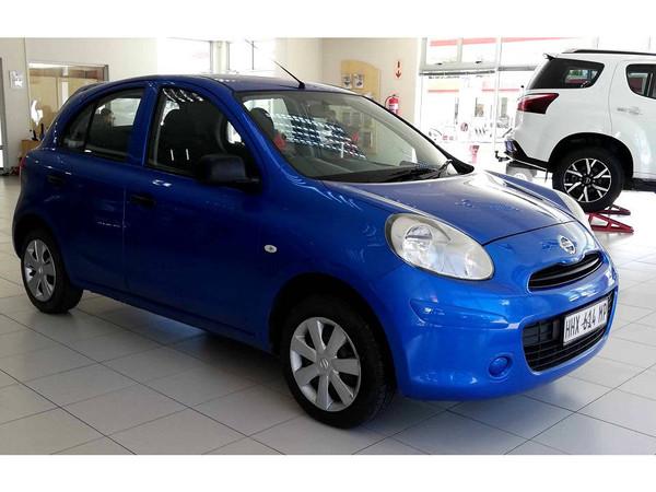 2012 Nissan Micra 1.2 Visia 5dr d82  Mpumalanga Secunda_0