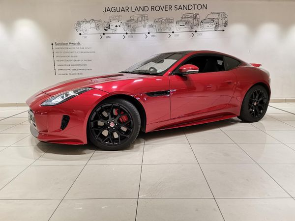 2016 Jaguar F-TYPE S 3.0 V6 Coupe Gauteng Rivonia_0