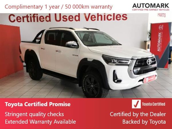 2021 Toyota Hilux 2.8 GD-6 Raider 4x4 Auto Double Cab Bakkie Gauteng Springs_0