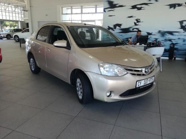 2016 Toyota Etios 1.5 Xs  Western Cape Bloubergstrand_0
