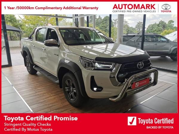 2021 Toyota Hilux 2.8 GD-6 Raider 4X4 Auto Double Cab Bakkie Gauteng Bryanston_0
