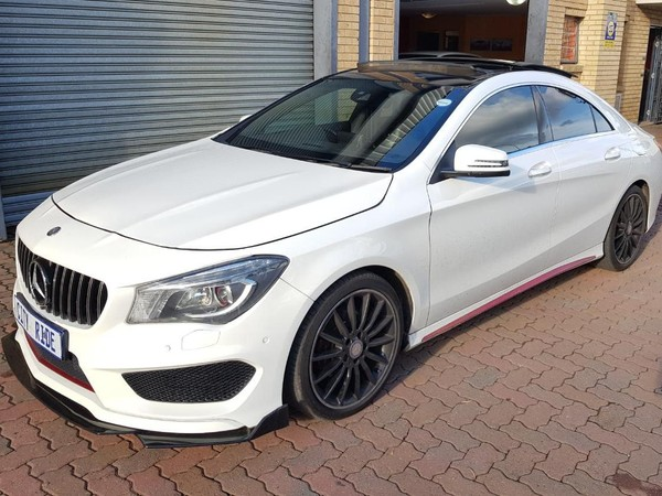 2015 Mercedes-Benz CLA-Class CLA200 AMG Gauteng Germiston_0