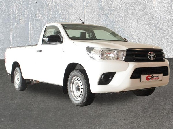 2018 Toyota Hilux 2.4 GD Single Cab Bakkie Western Cape Kuils River_0