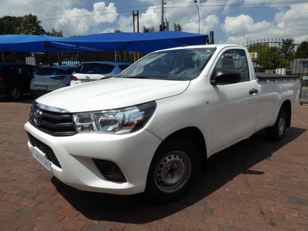2020 Toyota Hilux 2.4 GD Single Cab Bakkie Gauteng Bramley_0