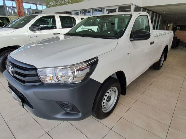 2021 Toyota Hilux 2.0 VVTi S Single Cab Bakkie Western Cape Table View_0