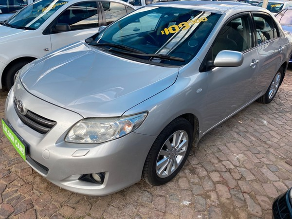 2010 Toyota Corolla 1.8 Exclusive  Gauteng Boksburg_0