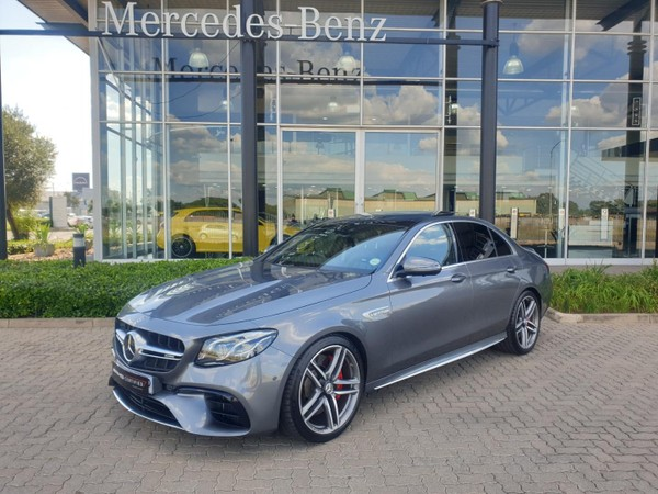 2017 Mercedes-Benz E-Class AMG E63 S 4MATIC Gauteng Vereeniging_0