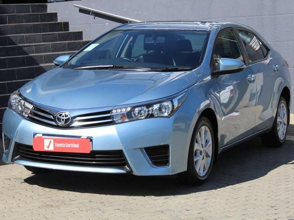 2015 Toyota Corolla 1.6 Prestige CVT Gauteng Johannesburg_0