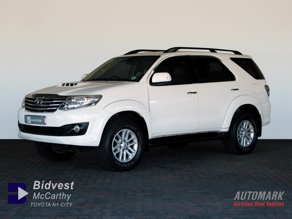 2012 Toyota Fortuner 2.5d-4d Rb  Western Cape Goodwood_0