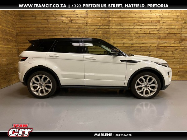 2012 Land Rover Evoque 2.2 Sd4 Dynamic  Gauteng Pretoria_0