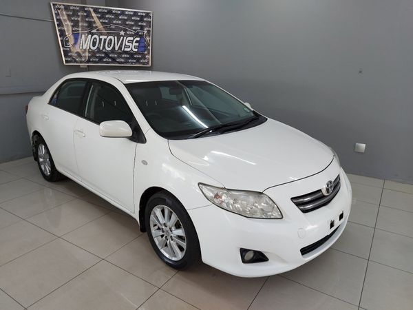 2008 Toyota Corolla 1.4 Professional  Gauteng Vereeniging_0