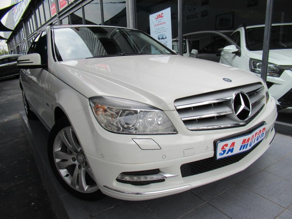 2010 Mercedes-Benz C-Class C200 Cgi Be Avantgarde At  Gauteng Randburg_0