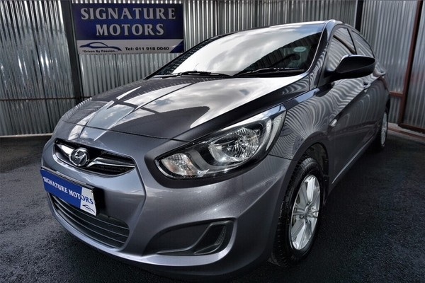 2013 Hyundai Accent 1.6 Gl  Gauteng Boksburg_0