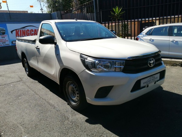2020 Toyota Hilux 2.4 GD AC SC CC Gauteng Johannesburg_0