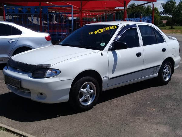 1999 Hyundai Accent 1.3 Xs  North West Province Orkney_0