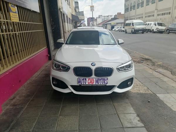 2017 BMW 1 Series 120i Sport Line 5DR Auto f20 Gauteng Johannesburg_0