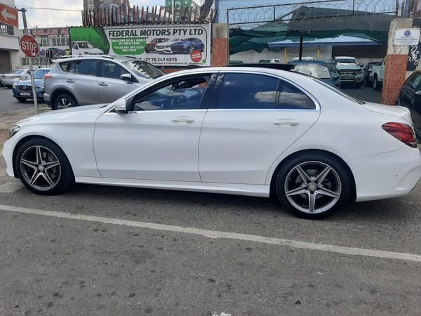 2015 Mercedes-Benz C-Class C200 AMG line Auto Gauteng Johannesburg_0