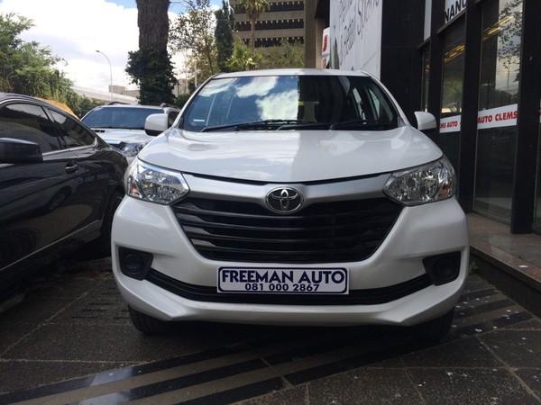 2019 Toyota Avanza 1.3 SX Gauteng Bramley_0