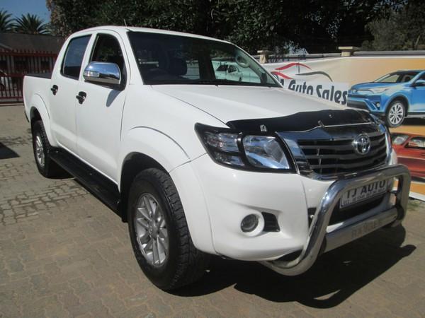 2014 Toyota Hilux 2.5d-4d Srx 4x4 Pu Dc  Gauteng Bramley_0