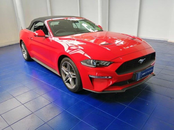 2021 Ford Mustang 2.3 Convertible Auto Western Cape Cape Town_0