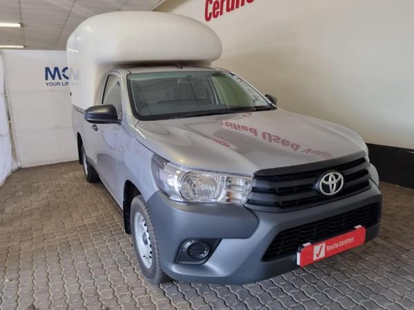 2021 Toyota Hilux 2.4 GD S AC Single Cab Bakkie Mpumalanga Nelspruit_0