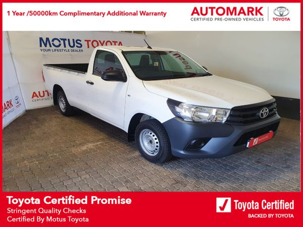 2021 Toyota Hilux 2.0 VVTi AC Single Cab Bakkie Mpumalanga Nelspruit_0