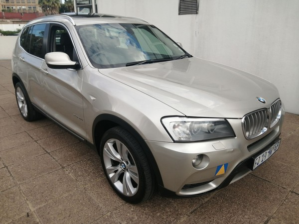 2014 BMW X3 Xdrive 3.0d At  Gauteng Germiston_0