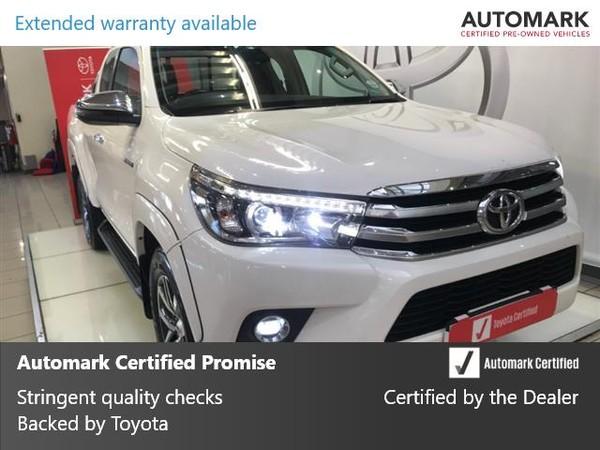 2018 Toyota Hilux 2.8 GD-6 RB Raider Extra Cab Bakkie Auto Gauteng Johannesburg_0