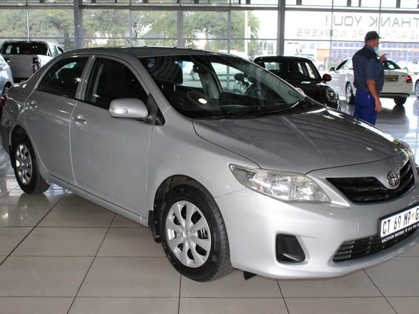 2013 Toyota Corolla 1.3 Professional  Gauteng Alberton_0