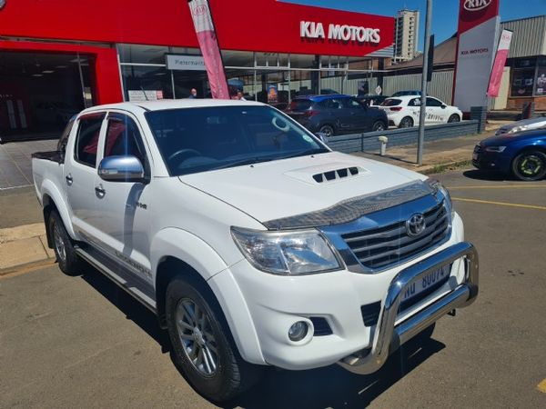 2011 Toyota Hilux 3.0 D-4d Heritage Rb Pu Dc  Kwazulu Natal Pietermaritzburg_0