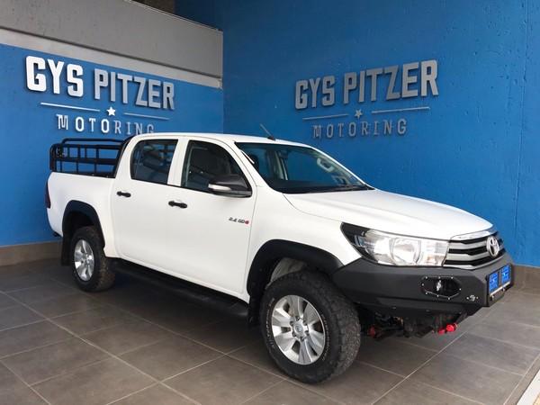 2017 Toyota Hilux 2.4 GD-6 SRX 4x4 Double Cab Bakkie Gauteng Pretoria_0