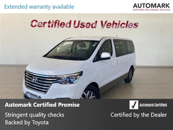 2018 Hyundai H1 2.5 CRDI Wagon Auto North West Province Klerksdorp_0