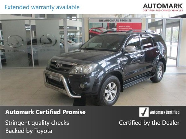 2006 Toyota Fortuner 4.0 V6 At 4x4  Western Cape Cape Town_0